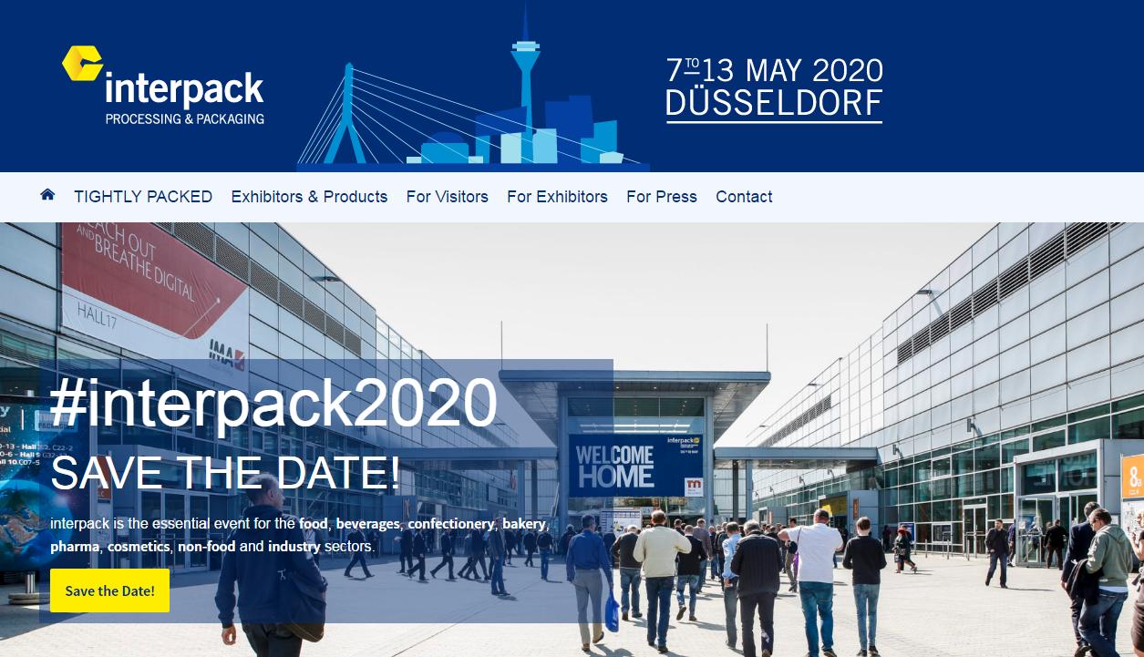 Pêşangeha Almanya Interpack 2020